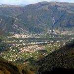 Vista sulla conca dal Monte Tomba – Settimo Rizzotto